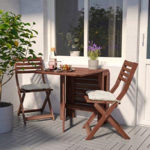 Складная балконная мебель