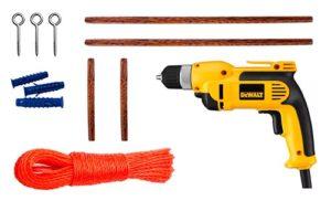 Примерный набор инструментов для самостоятельного изготовления