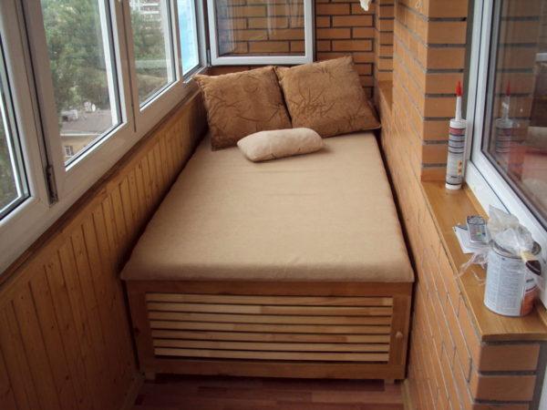 Модель кровати-дивана
