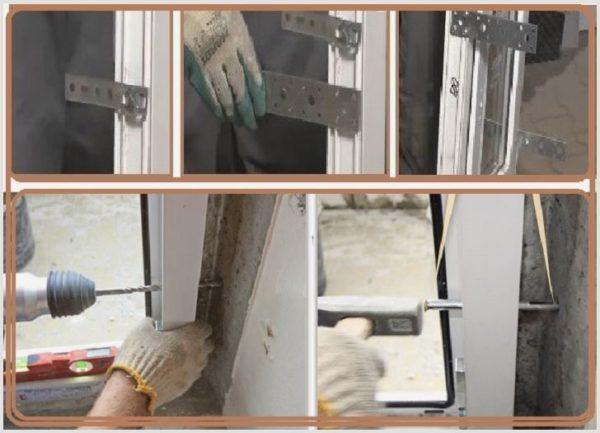 Монтаж окна в панельную стену