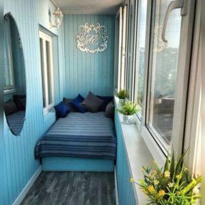 Пример дивана-кровати в стиле прованс