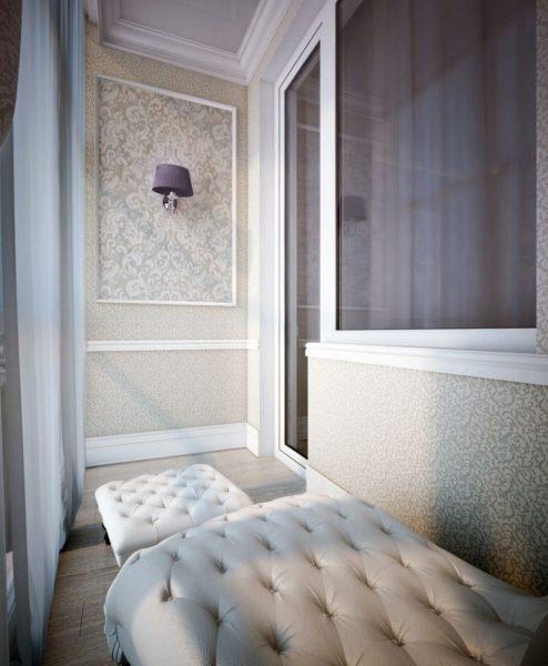 Идея спального места в классическом стиле