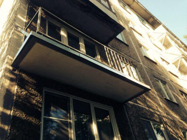 Пример восстановления балконной плиты