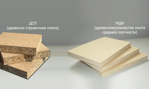 Древесностружечная плита и мелкодисперсная фракция