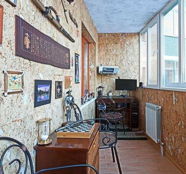Размещение коллекции на балконе
