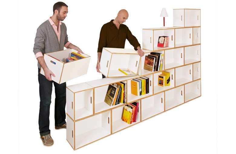 Шкаф из отдельных модулей